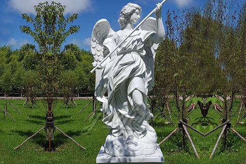 Life size outdoor marble angel sculptures for sale