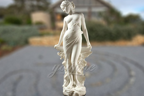 Life Size Naked Female Marble Statues