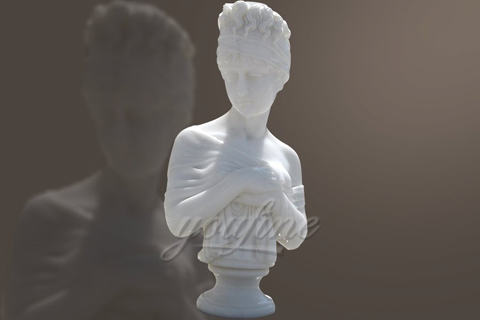 Custom Femal Bust Marble Statues