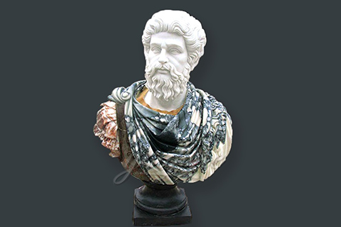Hot sales hand carved marble roman busts