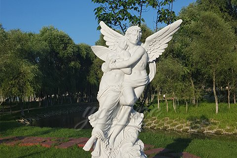 Best Angel Marble Statues of Apollo and Daphne