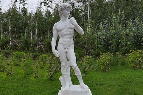 Famous White Marble David Statues
