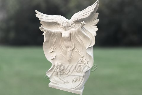 Full Size Famous Marble Angle Statues