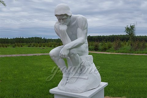 Western Full Size Marble Statues of the Thinker